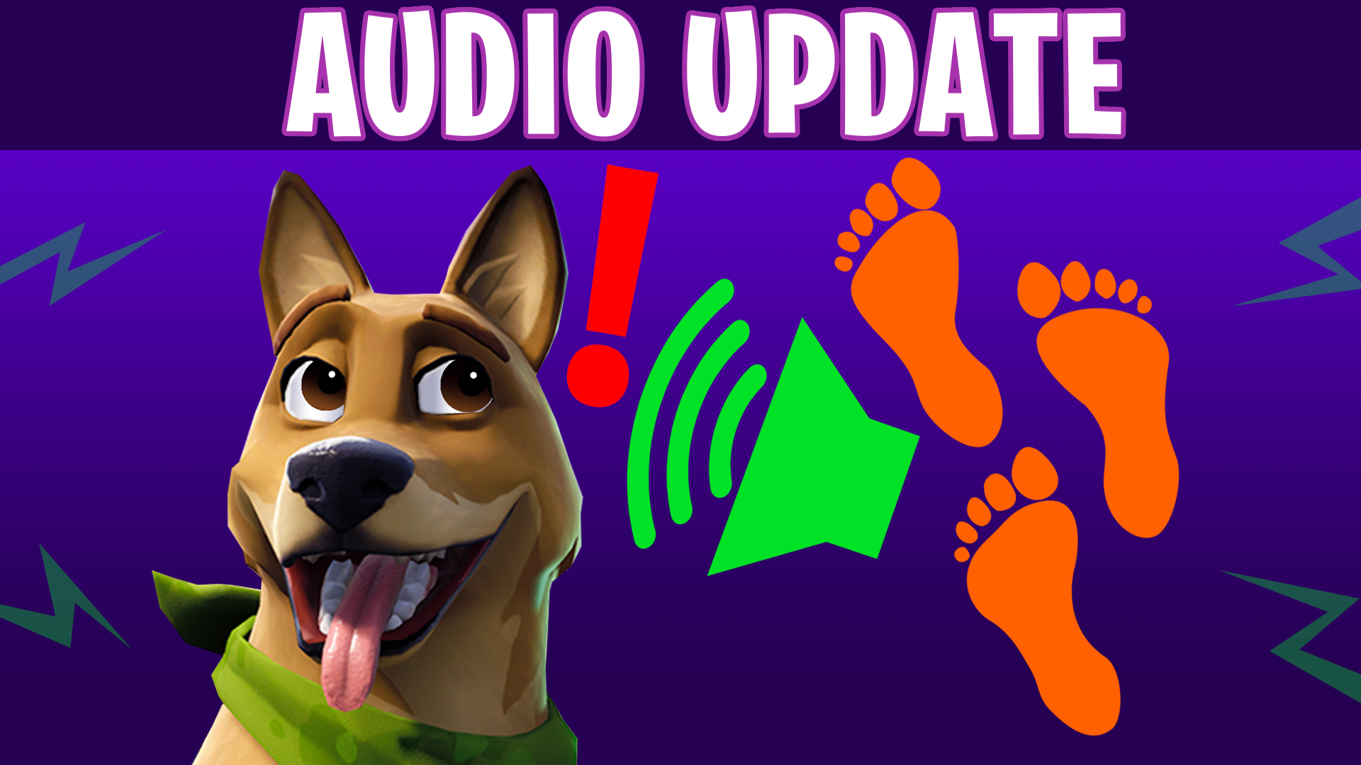Audio Updates And Disappearing Footsteps Season 6 Fortnite News