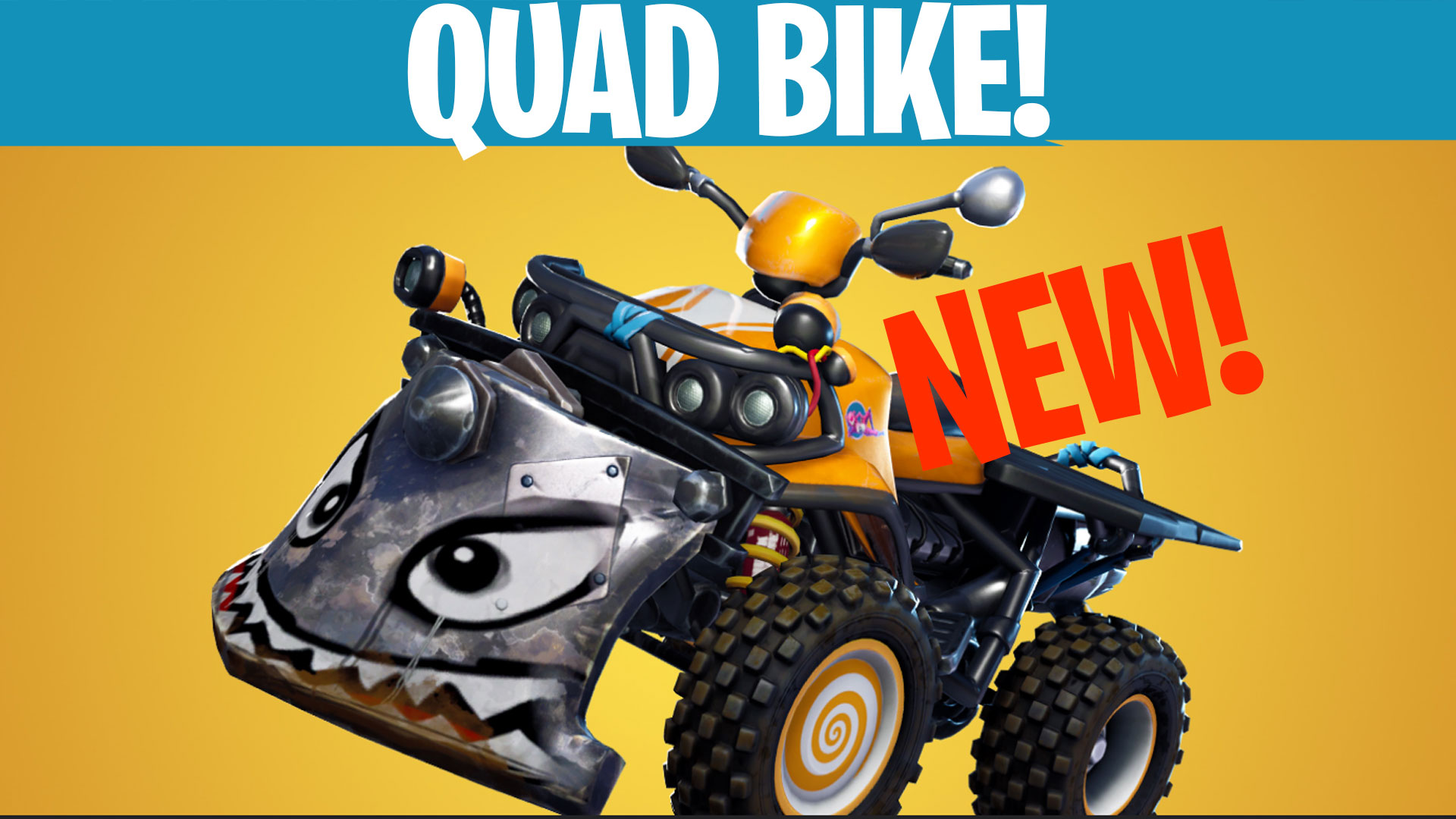 fornite new quadcrasher vehicle