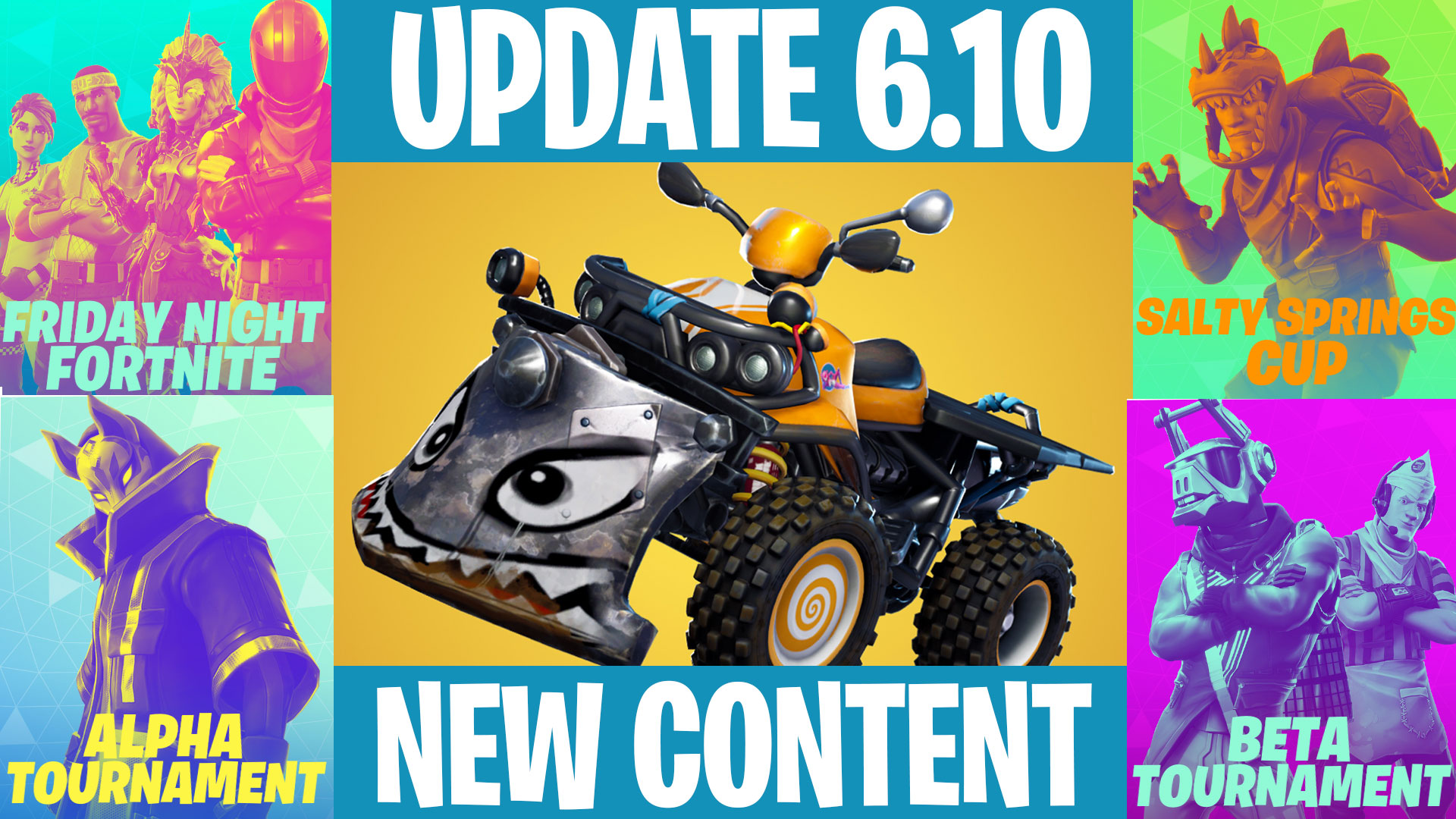 Fortnite V6.10 Patch