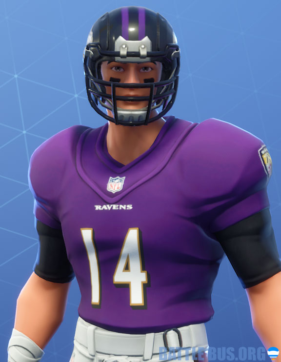fortnite nfl Baltimore ravens outfit