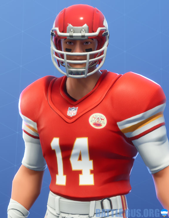 fortnite nfl cansas city chiefs outfit