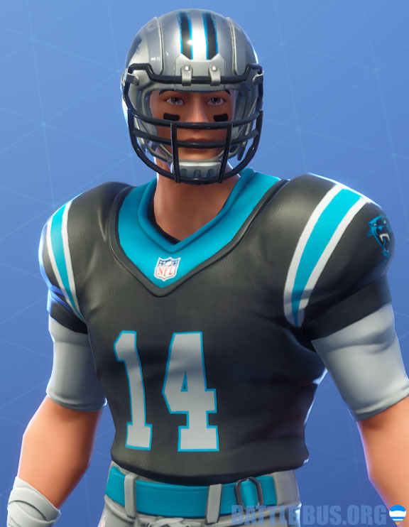 fortnite nfl Carolinas panthers outfit