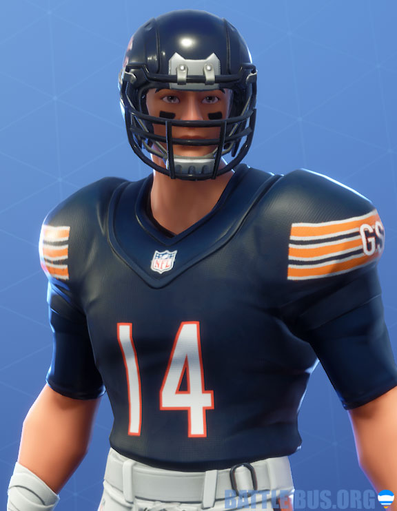 fortnite nfl chicago bears outfit