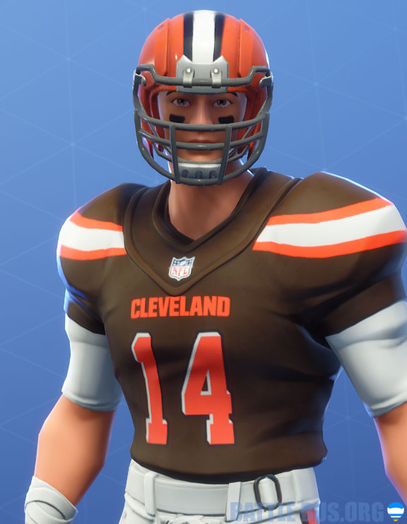 fortnite nfl Cleveland browns outfit