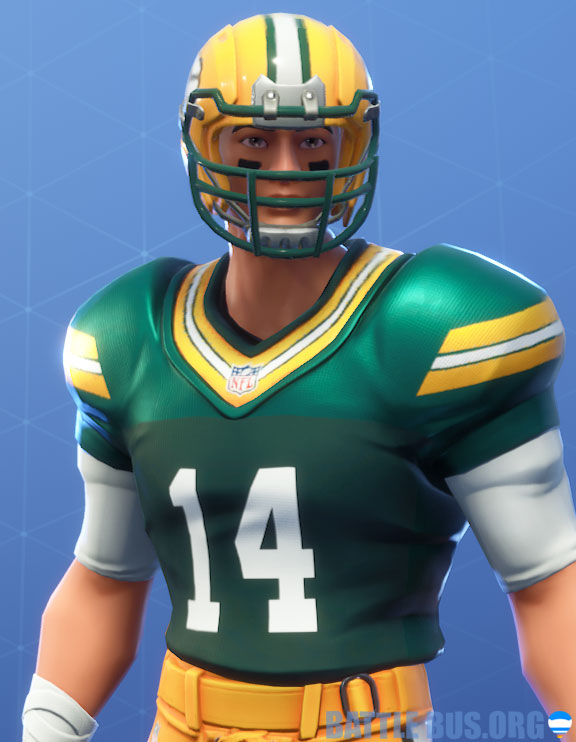 fortnite nfl greedy packers outfit