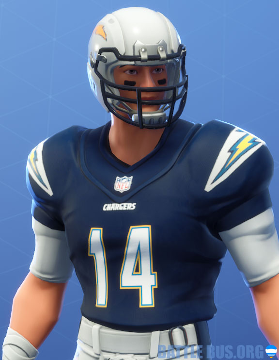 fortnite nfl los angles chargers outfit