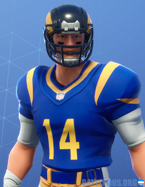 fortnite nfl los angles rams outfit