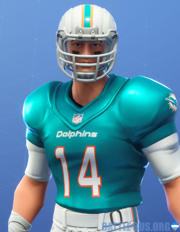 fortnite nfl Miami dolphins outfit