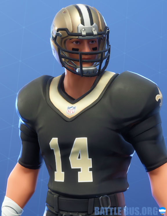 fortnite nfl New Orleans saints outfit