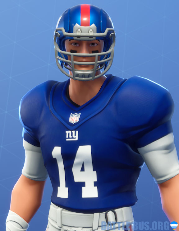 fortnite nfl New York giants outfit