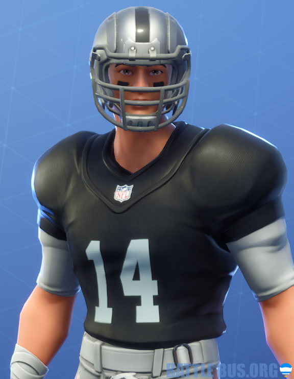 fortnite nfl Oakland raiders outfit