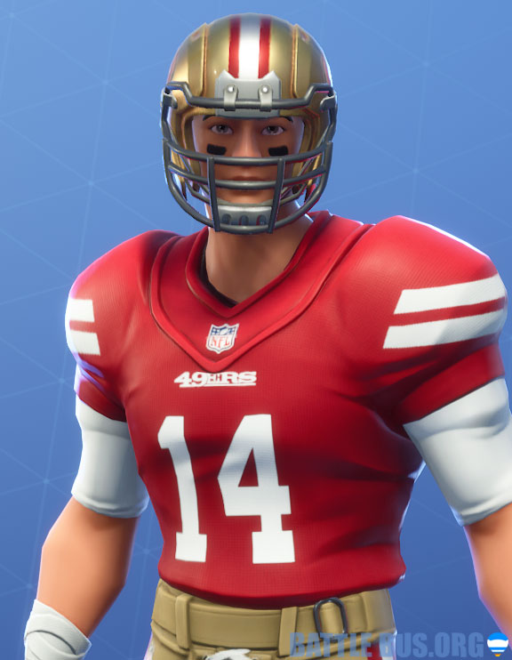 fortnite nfl San Francisco 49ers outfit