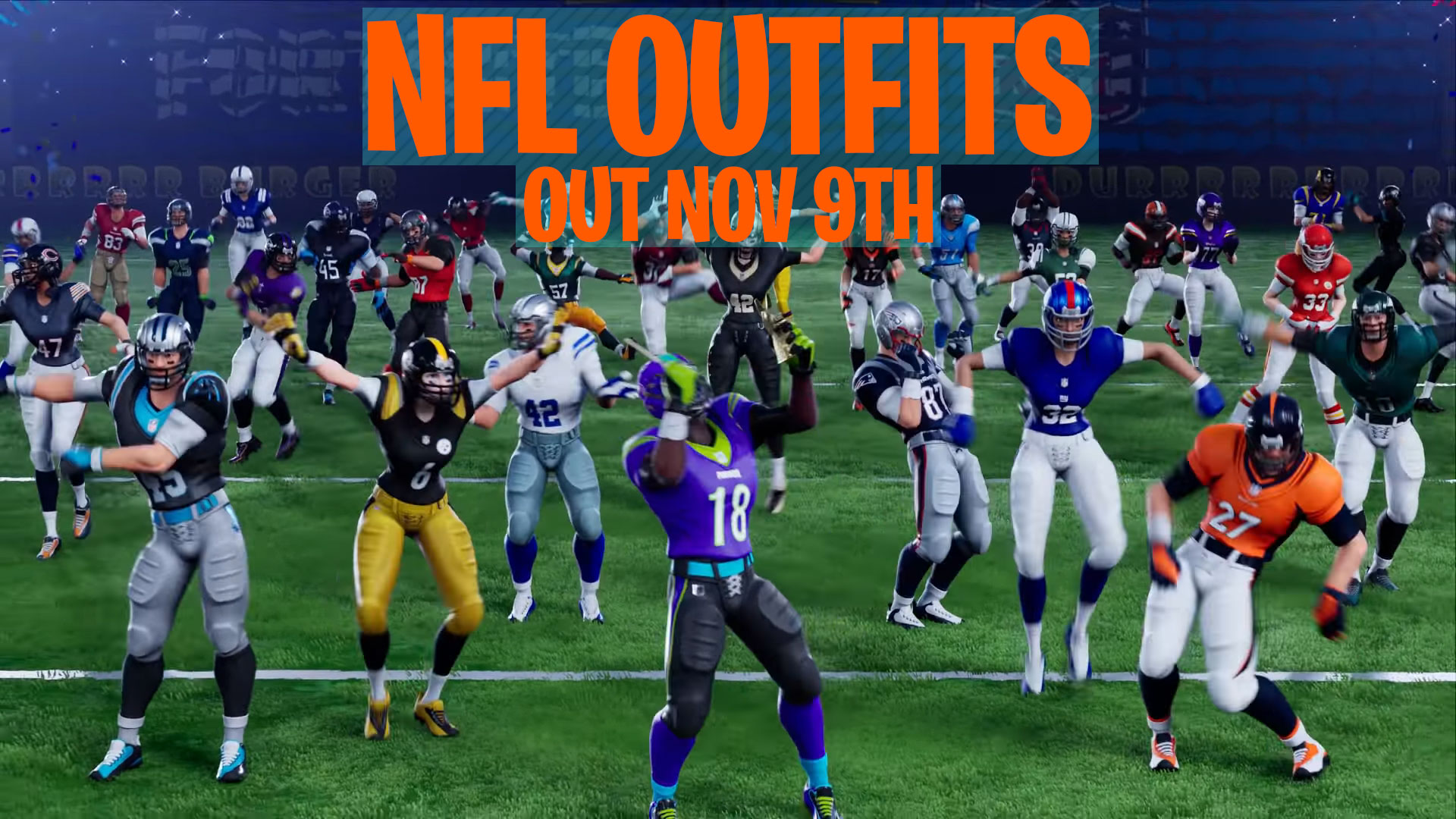 fortnite nfl gear
