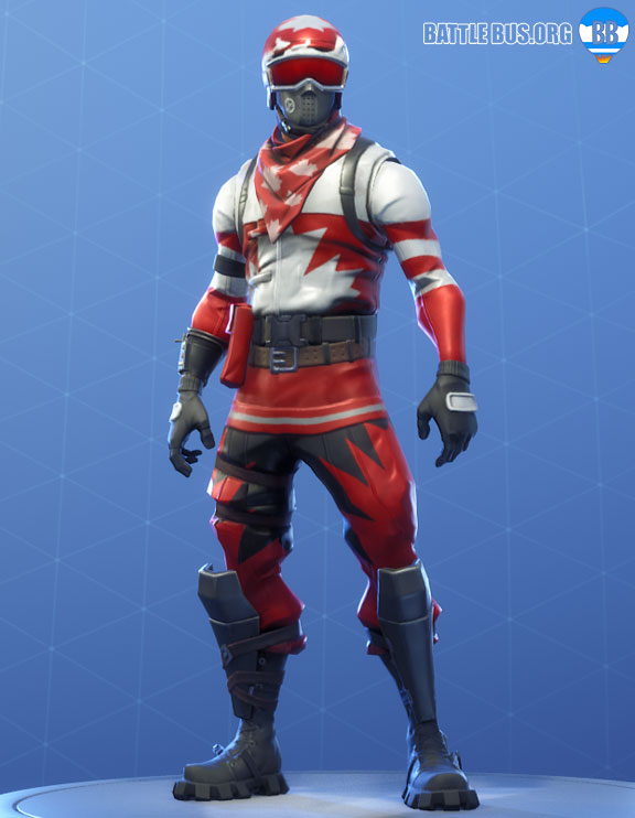 Alpine ace Canada Outfit Fortnite