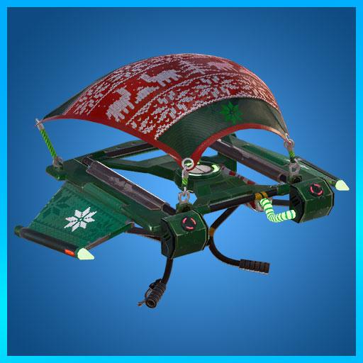 Cozy Coaster Christmas Glider