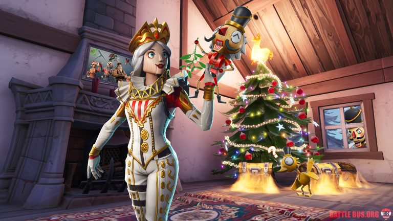 Crackshot Crackabella Fortnite Wallpaper Christmas