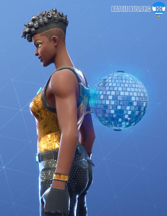 Disco Ball Fortnite Back Bling