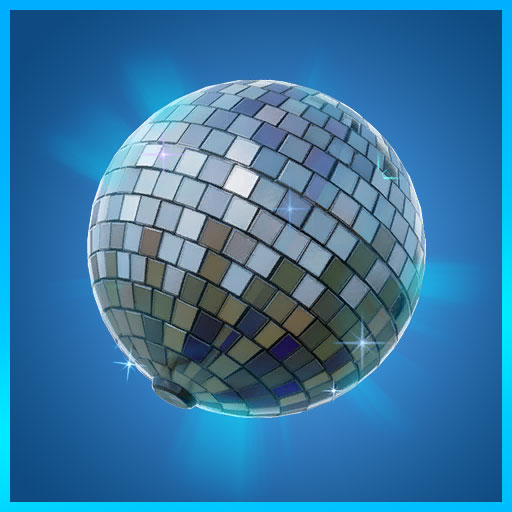 Disco Ball Fortnite Back Bling