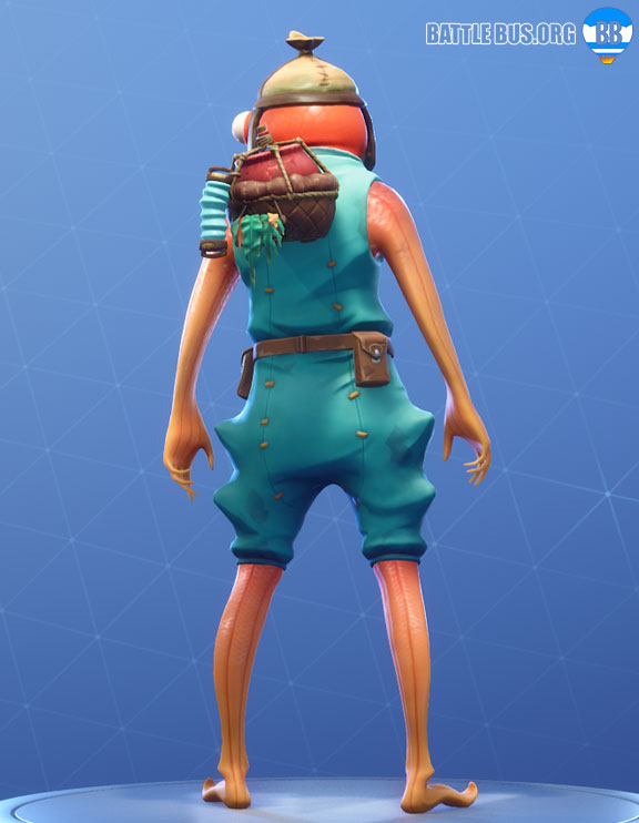Fishstick Back Bling Fortnite Saltwater Satchel RARE
