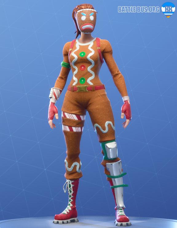 ginger gunner fortnite outfit