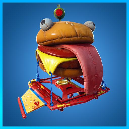 Fortnite Glidurrr glider durrr burger