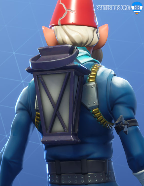 Gnome Lamp Back Bling Fortnite Luminous Lamp