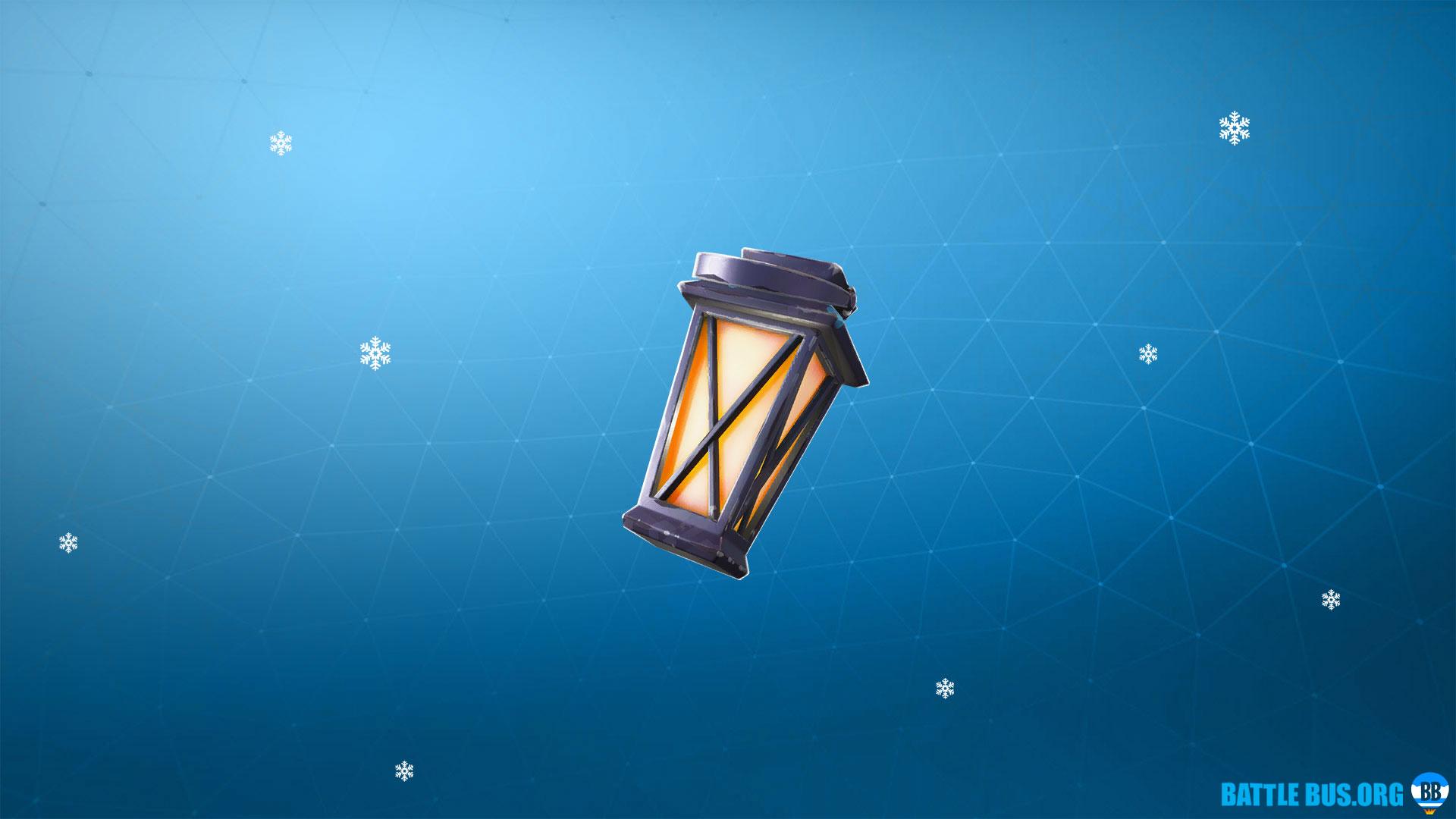 Gnome Lamp Back Bling Fortnite Luminous Lamp