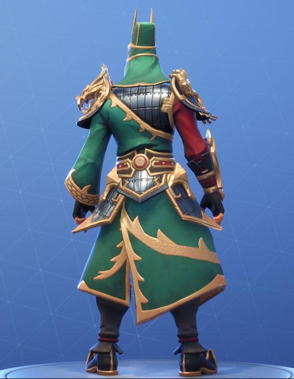 Guan Yu Outfit Fortnite