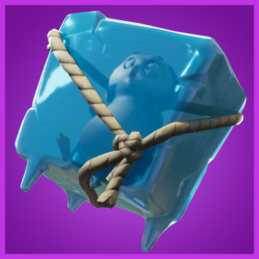 Ice cube back bling