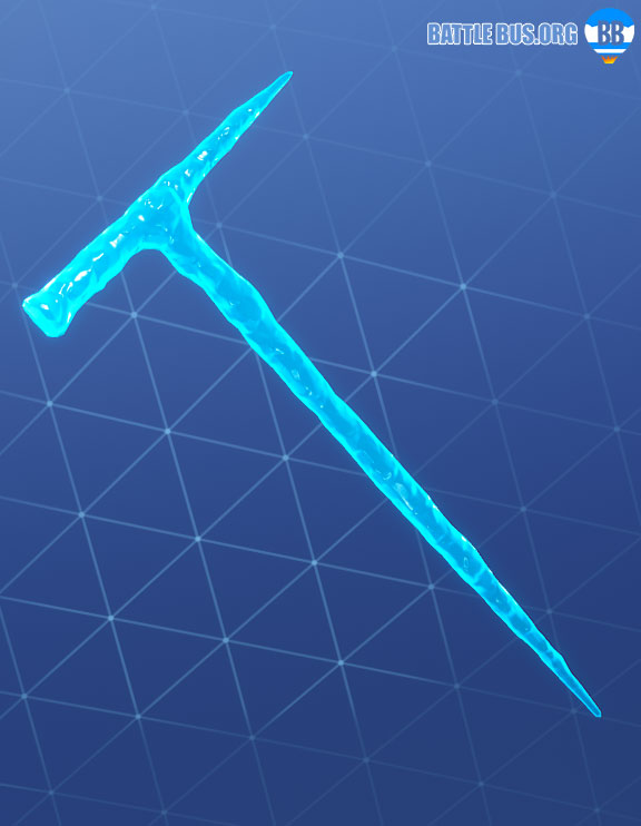 Icicle slushy soldier pickaxe