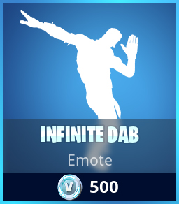 Infinite Dab Emote Fortnite