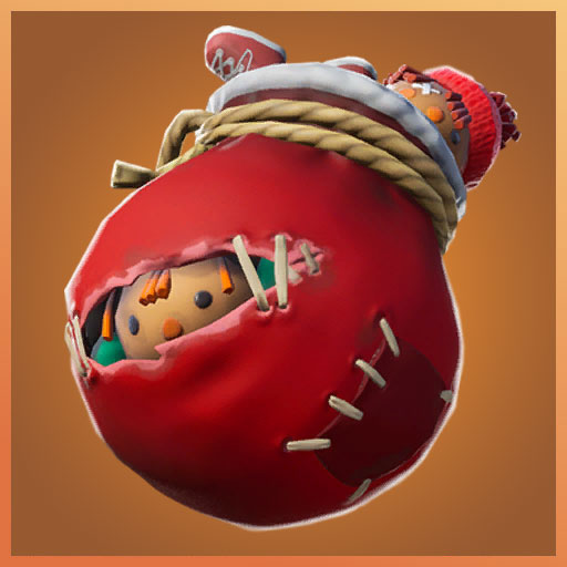 Krampus brat bag back bling