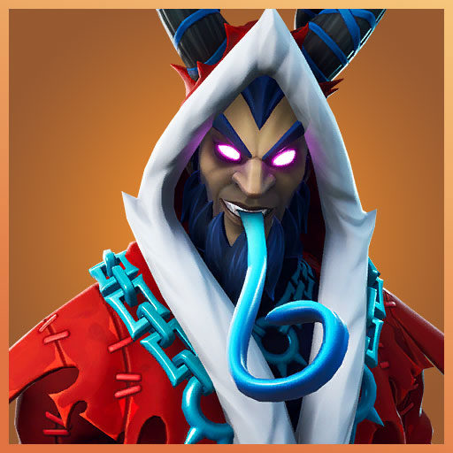 Krampus fortnite skin