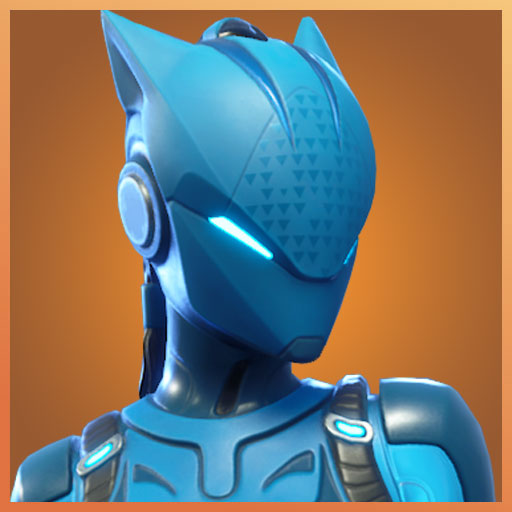 lynx fortnite outfit stage 6 blue