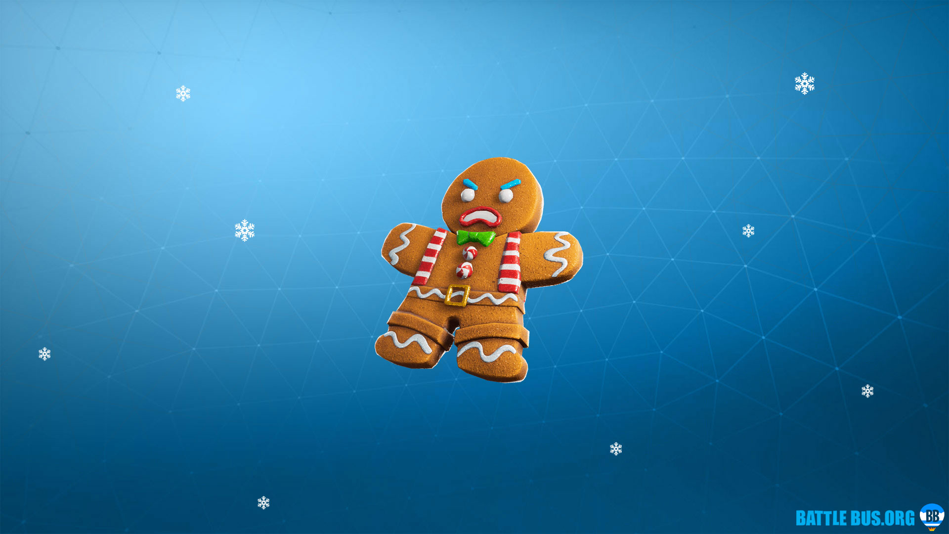 Mini Marauder Gingerbread Back