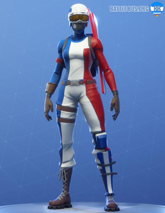 mogul master Outfit France ski Fortnite
