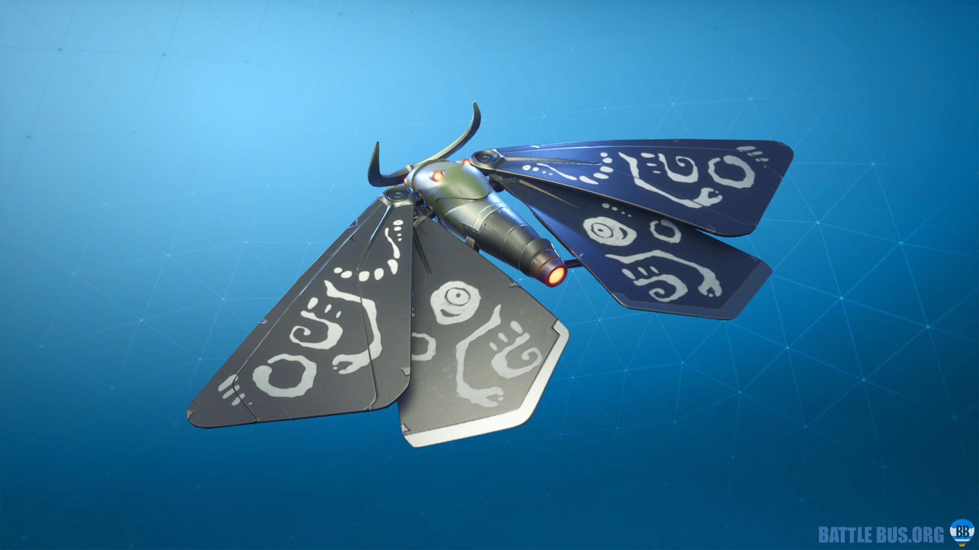 flutterbug moth command glider