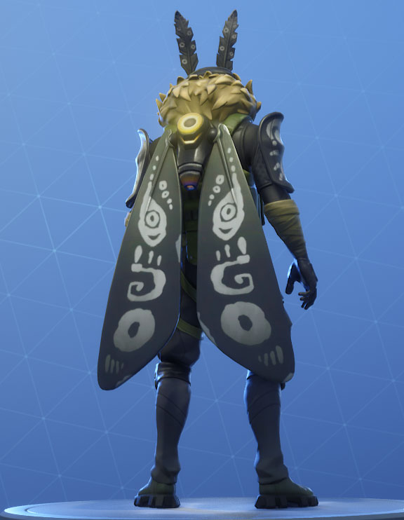wingback mothmando backbling