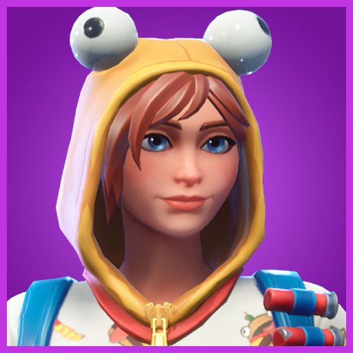 Onesie Fortnite Skin portrait