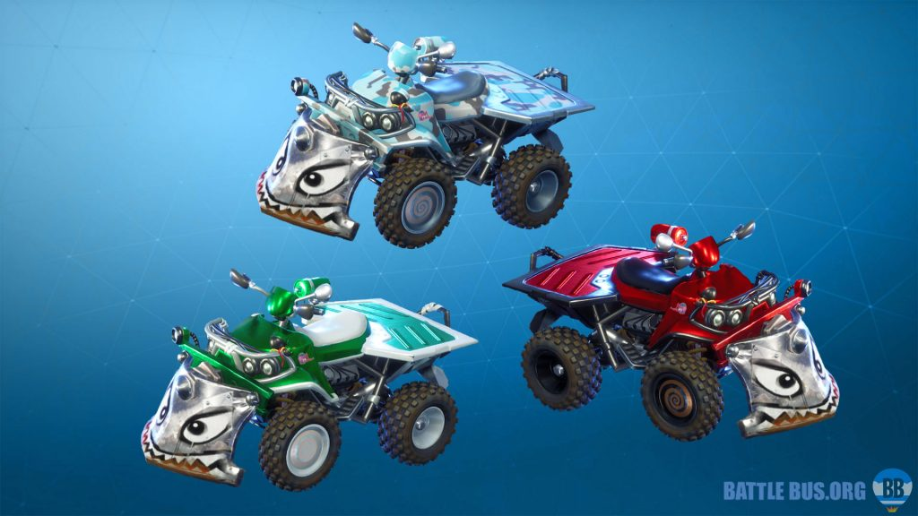 Fortnite vehicle wraps
