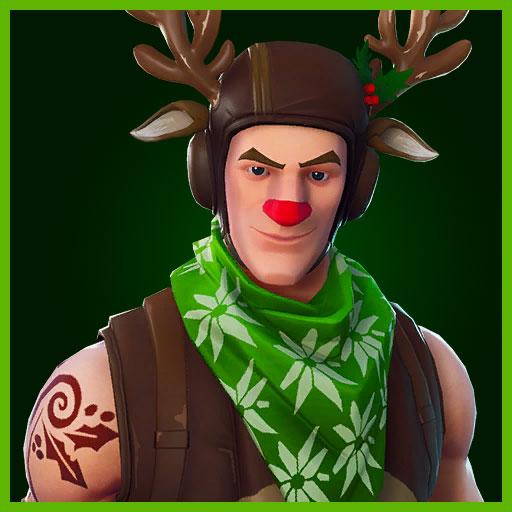 Red Nosed Ranger Skin fortnite
