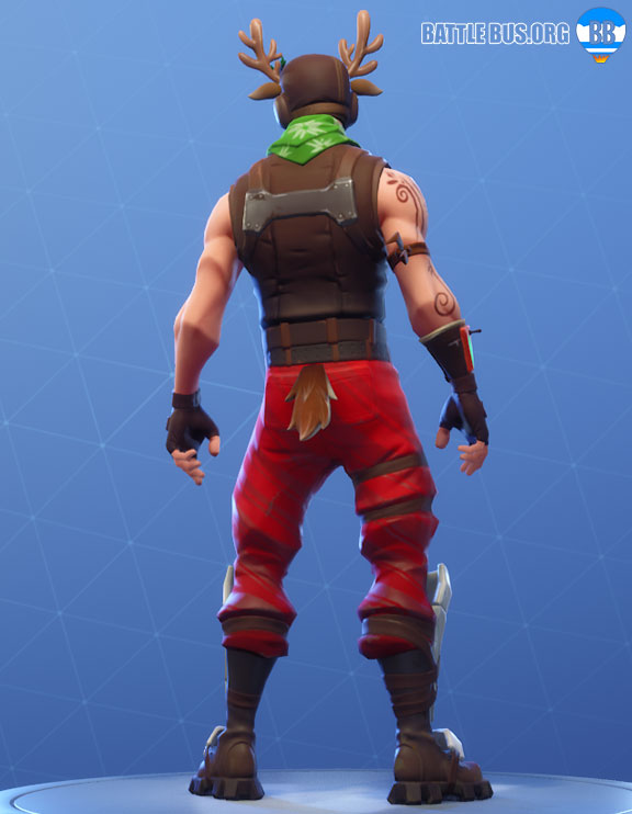 Red Nosed Ranger Skin