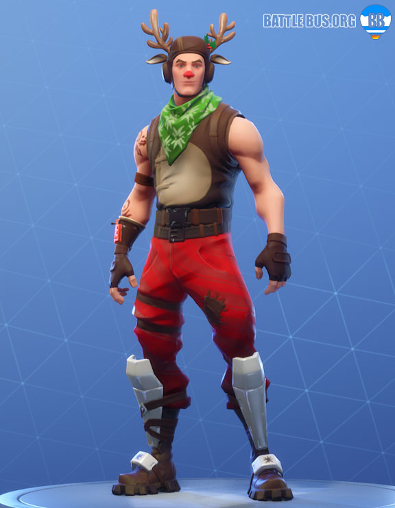 Red Nosed Ranger outfit