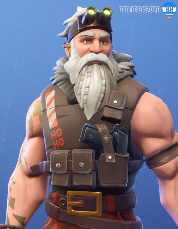 Sgt. Winter fortnite skin stage 1