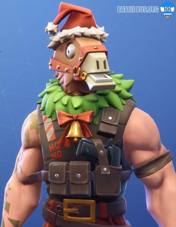 Sgt. Winter llama skin stage 2