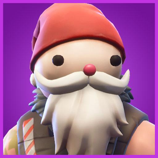 Sgt. Winter Santa head skin