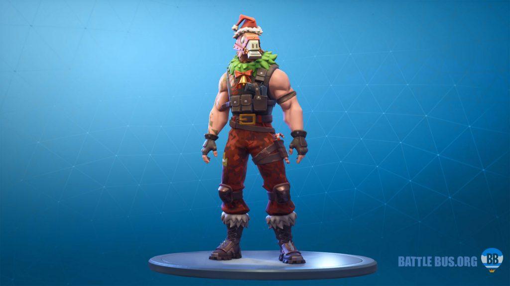 Sgt. Winter llama head skin