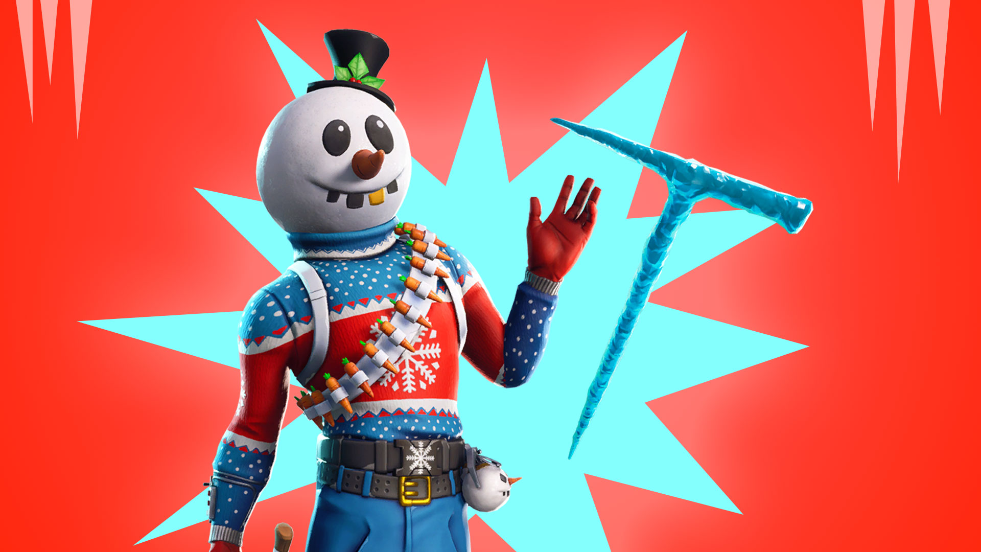 Christmas Skins.Christmas Skins Arrive In Fortnite Slushy Soldier Icicle