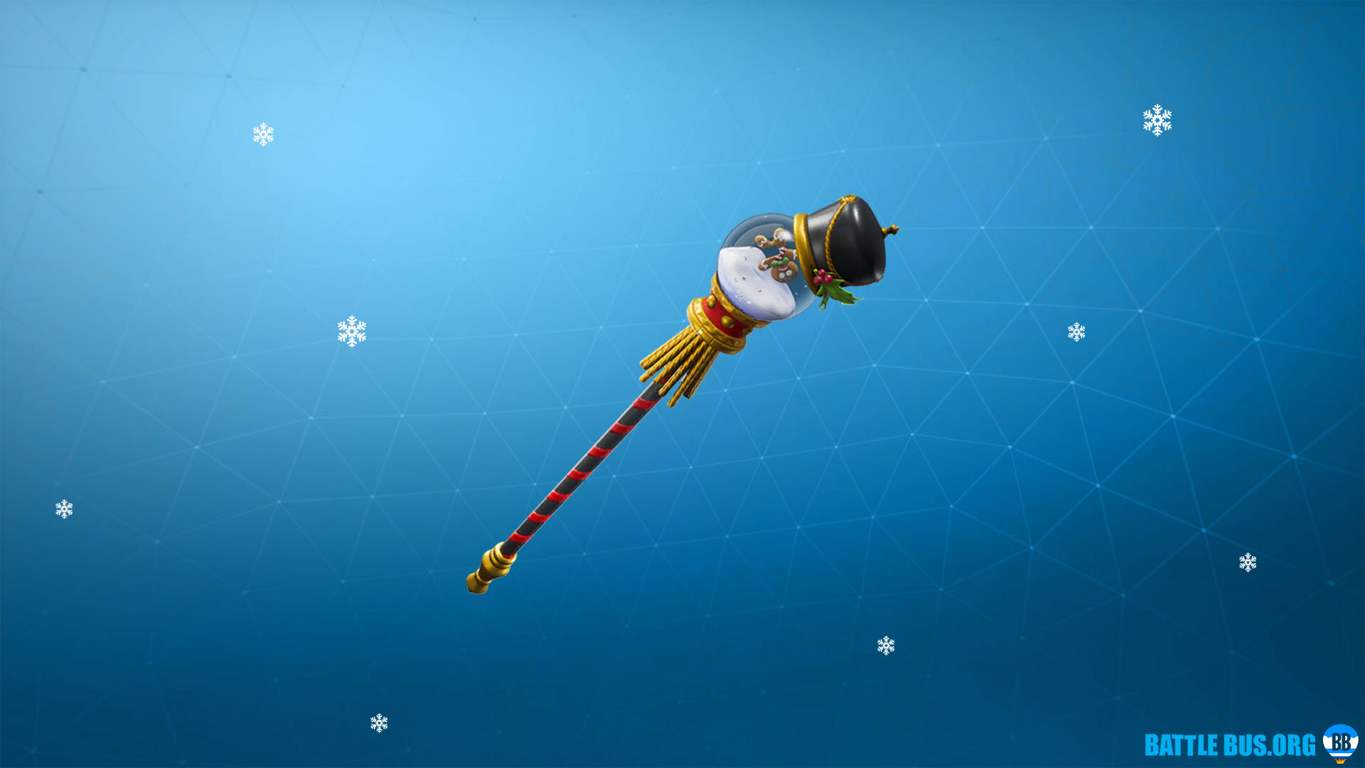 Snow Globe Pickaxe