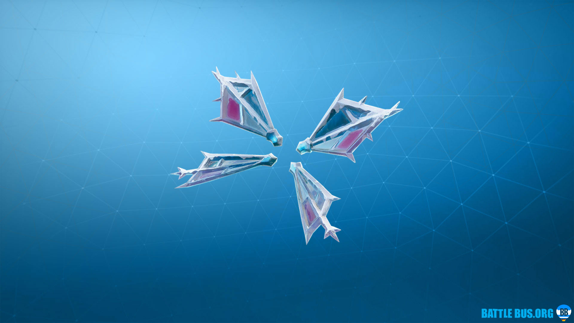 Flutterfrost Back Bling Fortnite Sugarplum
